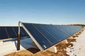 אחזקת מערכת סולארית מרכזית